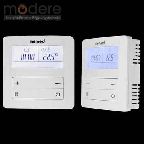 menred apt 20 digitaler raumthermostat aufputz 230 v mit. Black Bedroom Furniture Sets. Home Design Ideas